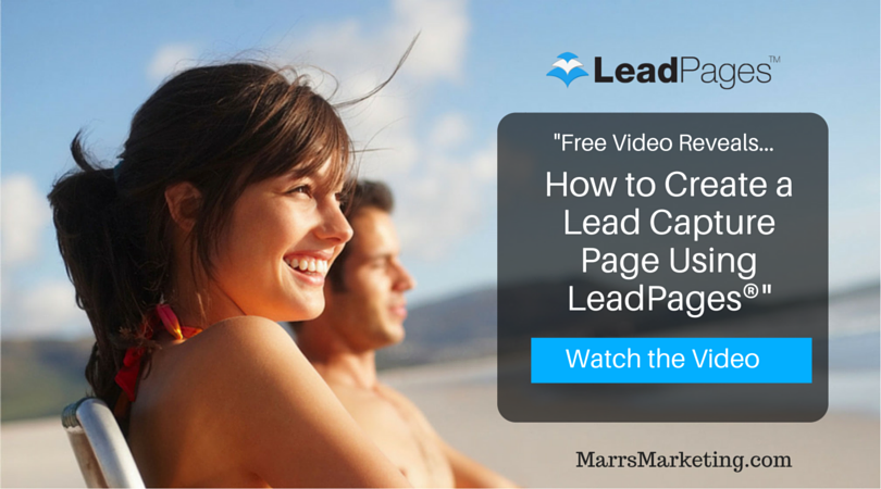 LeadPages Tutorial: Create a Lead Capture Page with LeadPages